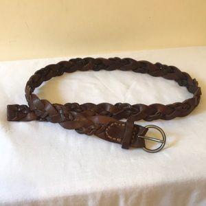 Abercrombie & Fitch Genuine Leather Belt - Sz Xs/S